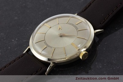 LONGINES ADMIRAL 14 CT YELLOW GOLD AUTOMATIC KAL. 19A VINTAGE [160700]