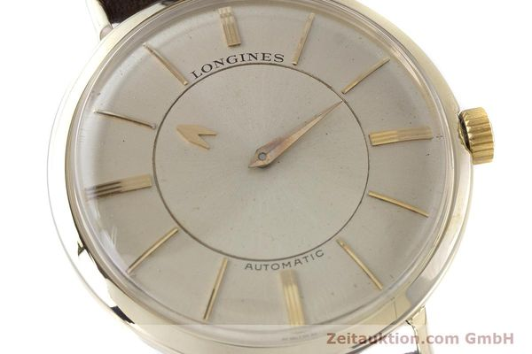 Used luxury watch Longines Admiral 14 ct yellow gold automatic Kal. 19A VINTAGE  | 160700 02