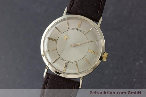 LONGINES ADMIRAL OR JAUNEN 14 CT AUTOMATIQUE KAL. 19A VINTAGE [160700]
