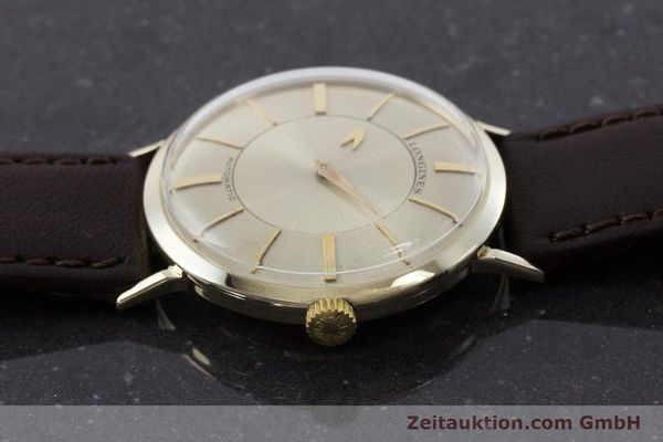 Used luxury watch Longines Admiral 14 ct yellow gold automatic Kal. 19A VINTAGE  | 160700 05