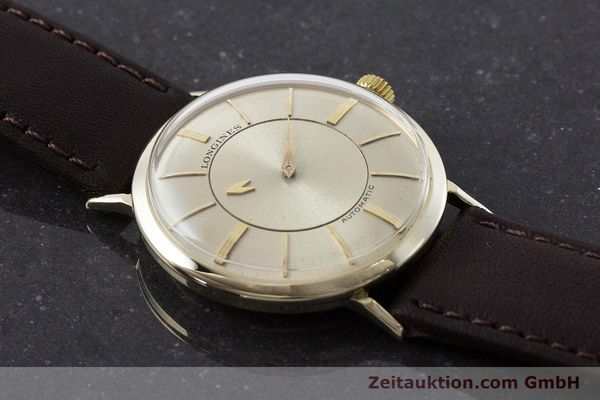 Used luxury watch Longines Admiral 14 ct yellow gold automatic Kal. 19A VINTAGE  | 160700 13