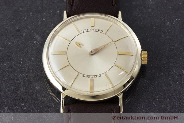 Used luxury watch Longines Admiral 14 ct yellow gold automatic Kal. 19A VINTAGE  | 160700 14