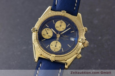 BREITLING CHRONOMAT CHRONOGRAPHE OR 18 CT AUTOMATIQUE KAL. B13 ETA 7750 LP: 23030EUR [160702]