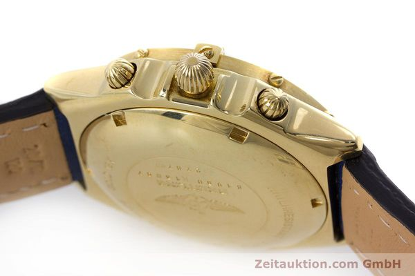 Used luxury watch Breitling Chronomat chronograph 18 ct gold automatic Kal. B13 ETA 7750 Ref. 81950K13047  | 160702 08