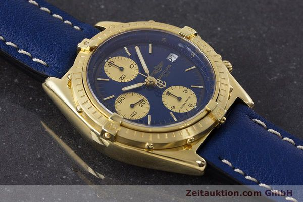 Used luxury watch Breitling Chronomat chronograph 18 ct gold automatic Kal. B13 ETA 7750 Ref. 81950K13047  | 160702 13