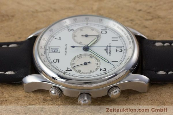 Used luxury watch Longines * chronograph steel automatic Kal. L651.2 Ref. L2.612.4 LIMITED EDITION | 160704 05