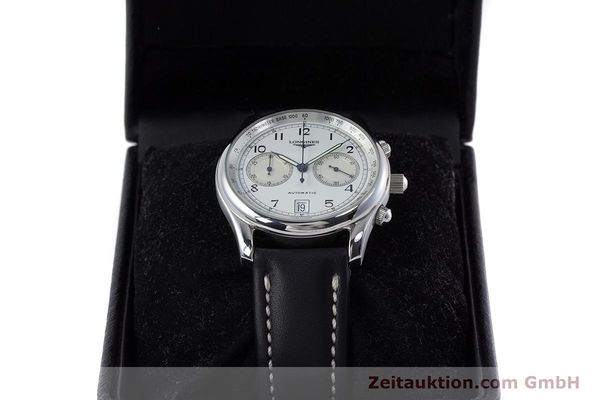 Used luxury watch Longines * chronograph steel automatic Kal. L651.2 Ref. L2.612.4 LIMITED EDITION | 160704 07