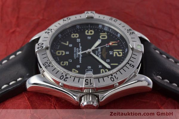 Used luxury watch Breitling Superocean steel automatic Kal. B17 ETA 2824-2 Ref. A17040  | 160707 05