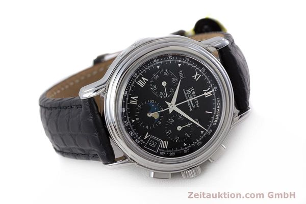 Used luxury watch Zenith El Primero chronograph steel automatic Kal. 410Z Ref. 01.0240.410  | 160710 03