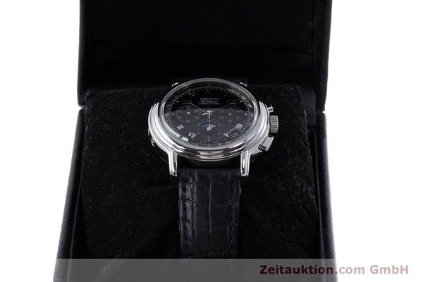Used luxury watch Zenith El Primero chronograph steel automatic Kal. 410Z Ref. 01.0240.410  | 160710 07