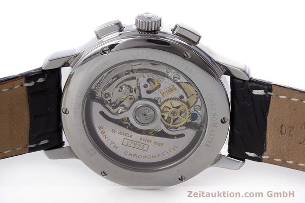 Used luxury watch Zenith El Primero chronograph steel automatic Kal. 410Z Ref. 01.0240.410  | 160710 09