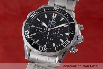OMEGA SEAMASTER PROFESSIONAL AMERICA´S CUP CHRONOGRAPH HERRENUHR VP: 4800,-EURO [160713]