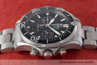 OMEGA SEAMASTER CHRONOGRAPH STEEL AUTOMATIC KAL. 3303A LP: 4800EUR [160713]