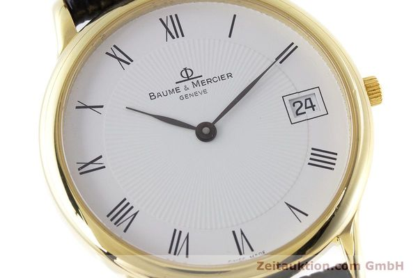 Used luxury watch Baume & Mercier * 18 ct gold quartz Kal. BM11295 ETA 255.111 Ref. MV045077  | 160715 02