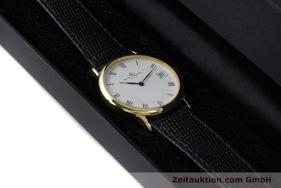 BAUME & MERCIER 18K (0,750) RONDE GOLD HERRENUHR MEDIUM VP: 6300,- EURO [160715]