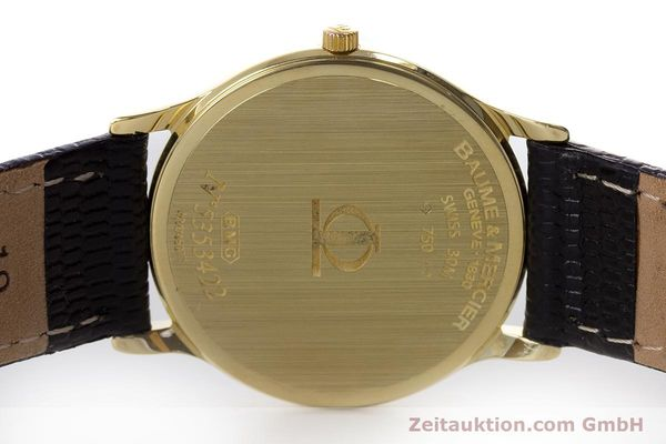 Used luxury watch Baume & Mercier * 18 ct gold quartz Kal. BM11295 ETA 255.111 Ref. MV045077  | 160715 09
