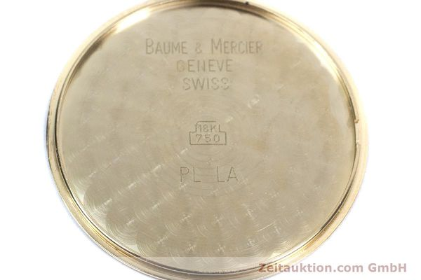 Used luxury watch Baume & Mercier * 18 ct gold quartz Kal. BM11295 ETA 255.111 Ref. MV045077  | 160715 10