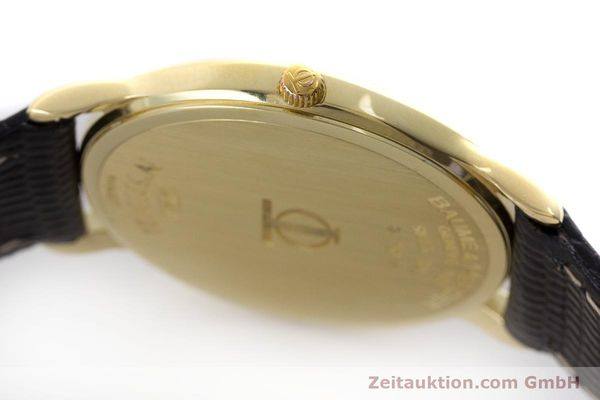 Used luxury watch Baume & Mercier * 18 ct gold quartz Kal. BM11295 ETA 255.111 Ref. MV045077  | 160715 11