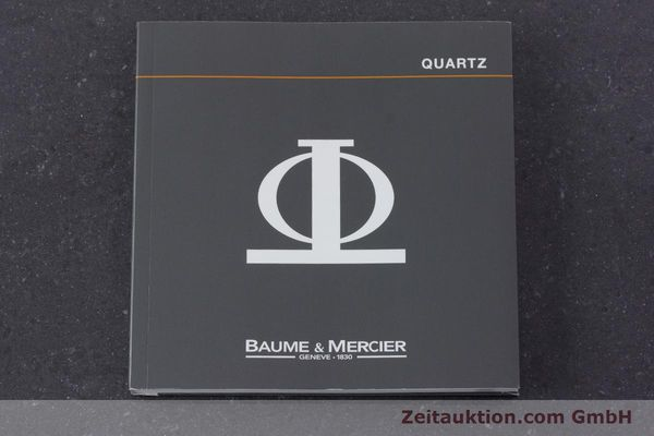 Used luxury watch Baume & Mercier * 18 ct gold quartz Kal. BM11295 ETA 255.111 Ref. MV045077  | 160715 13