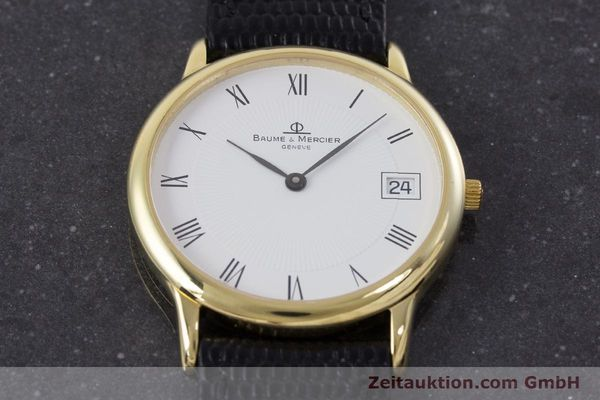 Used luxury watch Baume & Mercier * 18 ct gold quartz Kal. BM11295 ETA 255.111 Ref. MV045077  | 160715 16
