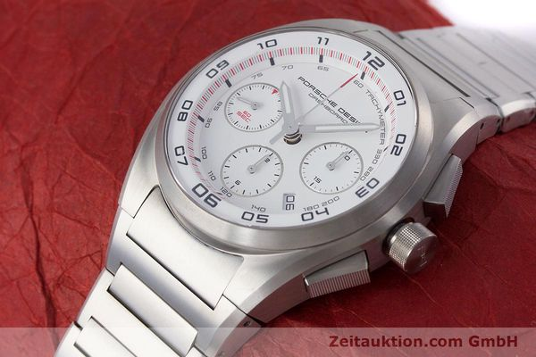 Used luxury watch Porsche Design Dashbord chronograph titanium automatic Kal. ETA 7753 Ref. P6620  | 160717 01
