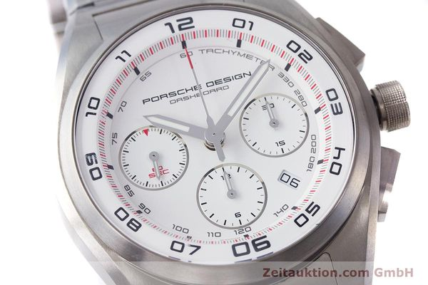 Used luxury watch Porsche Design Dashbord chronograph titanium automatic Kal. ETA 7753 Ref. P6620  | 160717 02