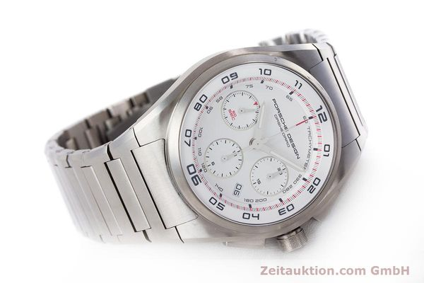 Used luxury watch Porsche Design Dashbord chronograph titanium automatic Kal. ETA 7753 Ref. P6620  | 160717 03
