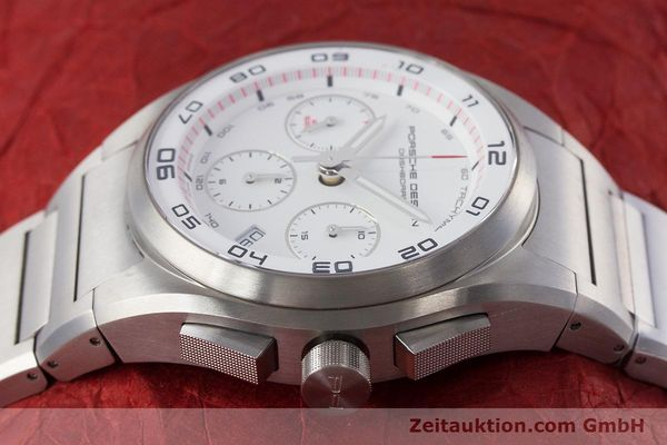 Used luxury watch Porsche Design Dashbord chronograph titanium automatic Kal. ETA 7753 Ref. P6620  | 160717 05
