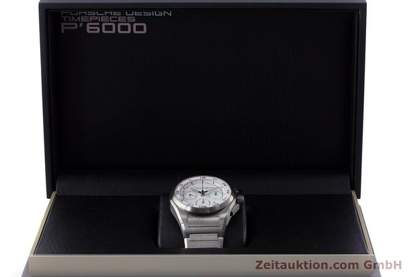 Used luxury watch Porsche Design Dashbord chronograph titanium automatic Kal. ETA 7753 Ref. P6620  | 160717 07