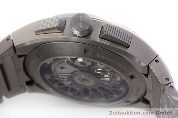 Used luxury watch Porsche Design Dashbord chronograph titanium automatic Kal. ETA 7753 Ref. P6620  | 160717 08