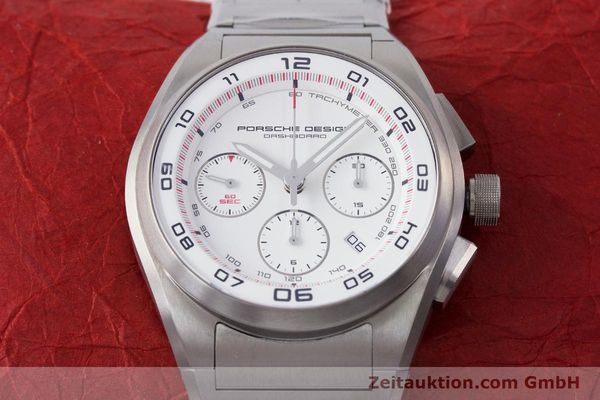 Used luxury watch Porsche Design Dashbord chronograph titanium automatic Kal. ETA 7753 Ref. P6620  | 160717 16
