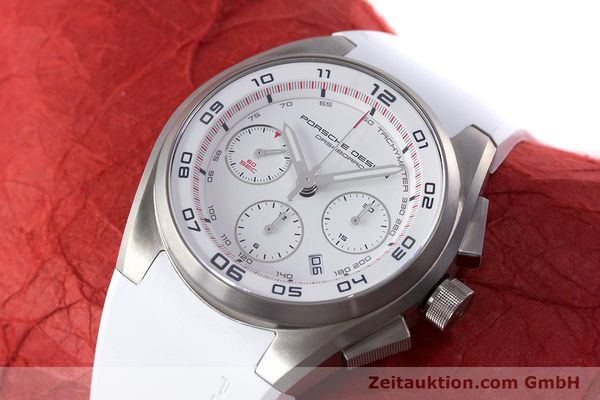 Used luxury watch Porsche Design Dashbord chronograph titanium automatic Kal. ETA 7753 Ref. P6620  | 160718 01