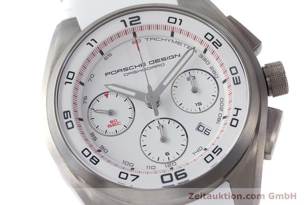 Used luxury watch Porsche Design Dashbord chronograph titanium automatic Kal. ETA 7753 Ref. P6620  | 160718 02