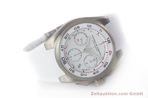 Used luxury watch Porsche Design Dashbord chronograph titanium automatic Kal. ETA 7753 Ref. P6620  | 160718 03