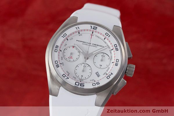 Used luxury watch Porsche Design Dashbord chronograph titanium automatic Kal. ETA 7753 Ref. P6620  | 160718 04