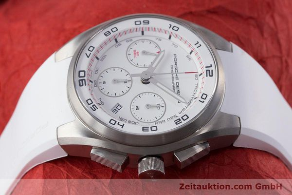 Used luxury watch Porsche Design Dashbord chronograph titanium automatic Kal. ETA 7753 Ref. P6620  | 160718 05