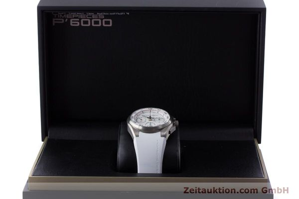 Used luxury watch Porsche Design Dashbord chronograph titanium automatic Kal. ETA 7753 Ref. P6620  | 160718 07