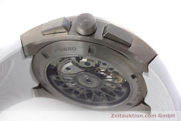 Used luxury watch Porsche Design Dashbord chronograph titanium automatic Kal. ETA 7753 Ref. P6620  | 160718 08