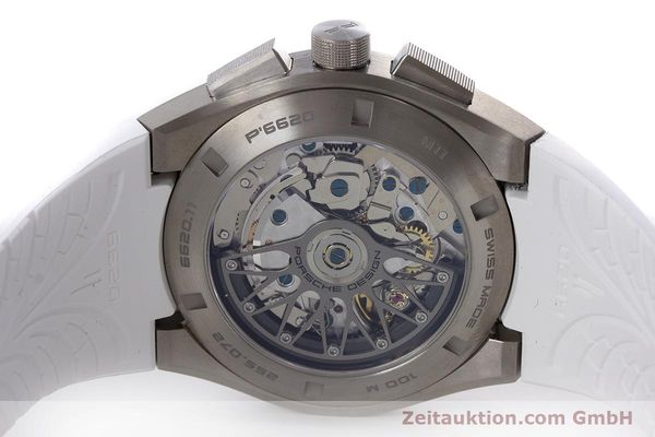 Used luxury watch Porsche Design Dashbord chronograph titanium automatic Kal. ETA 7753 Ref. P6620  | 160718 09