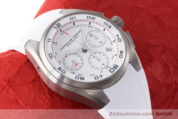 Used luxury watch Porsche Design Dashbord chronograph titanium automatic Kal. ETA 7753 Ref. P6620  | 160718 15
