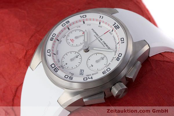 Used luxury watch Porsche Design Dashbord chronograph titanium automatic Kal. ETA 7753 Ref. 6620  | 160720 01
