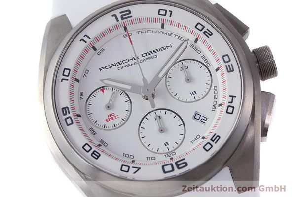 Used luxury watch Porsche Design Dashbord chronograph titanium automatic Kal. ETA 7753 Ref. 6620  | 160720 02