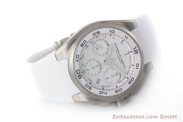 Used luxury watch Porsche Design Dashbord chronograph titanium automatic Kal. ETA 7753 Ref. 6620  | 160720 03