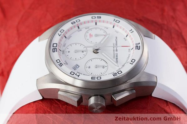 Used luxury watch Porsche Design Dashbord chronograph titanium automatic Kal. ETA 7753 Ref. 6620  | 160720 05