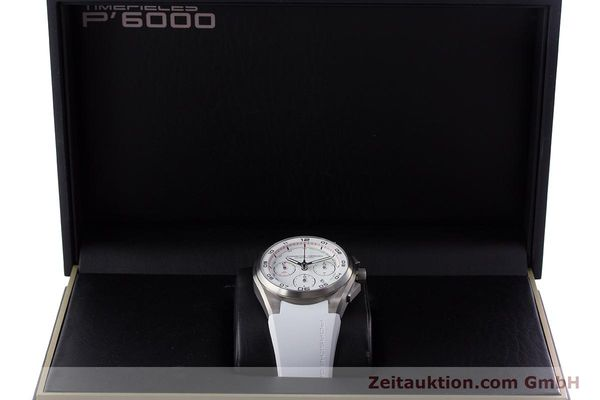 Used luxury watch Porsche Design Dashbord chronograph titanium automatic Kal. ETA 7753 Ref. 6620  | 160720 07