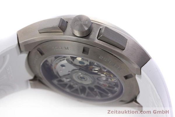 Used luxury watch Porsche Design Dashbord chronograph titanium automatic Kal. ETA 7753 Ref. 6620  | 160720 08