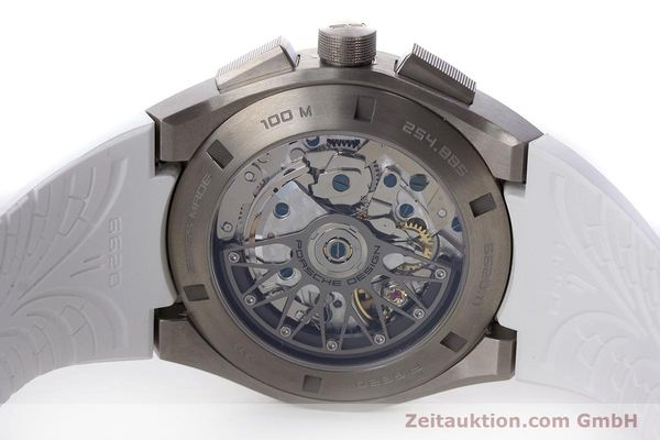 Used luxury watch Porsche Design Dashbord chronograph titanium automatic Kal. ETA 7753 Ref. 6620  | 160720 09