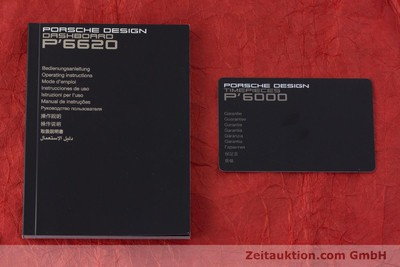 PORSCHE DESIGN DASHBORD CHRONOGRAPHE TITANE AUTOMATIQUE KAL. ETA 7753 LP: 3950EUR [160720]