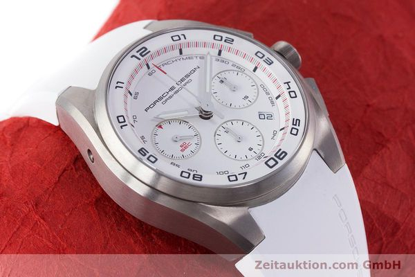 Used luxury watch Porsche Design Dashbord chronograph titanium automatic Kal. ETA 7753 Ref. 6620  | 160720 15