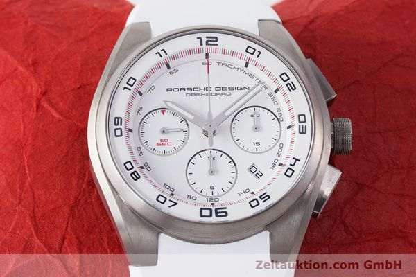 Used luxury watch Porsche Design Dashbord chronograph titanium automatic Kal. ETA 7753 Ref. 6620  | 160720 16